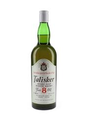 Talisker 8 Year Old Bottled 1970s - The Distiller's Agency Ltd. 75.7cl / 46%