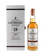 Laphroaig 28 Year Old  70cl / 44.4%