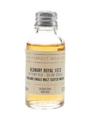 Glenury Royal 1973 24 Year Old Signatory Vintage