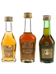 Bisquit Classique, Hennessy Bras Arme & Martell VSOP
