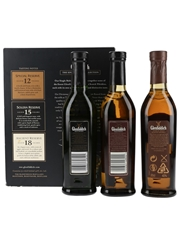 Glenfiddich Single Malt Collection 12, 15 & 18 Year Old 3 x 20cl / 40%