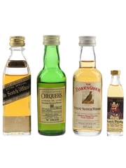 Chequers, Famous Grouse, King John & Johnnie Walker