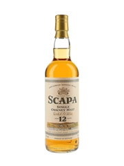Scapa 12 Year Old Bottled 1990s 70cl / 40%