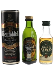 Glen Ord 12 Year Old and Glenfiddich Pure Malt