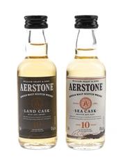 Aerstone 10 Year Old Sea Cask & Land Cask
