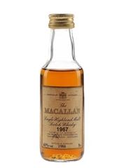 Macallan 1967 Bottled 1986 5cl / 43%
