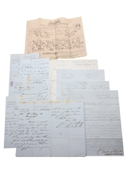 Boyes & Beckwith Correspondence & Invoices, Dated 1864-1882