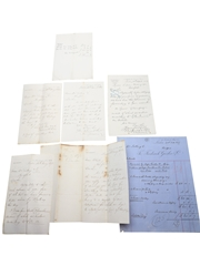 Fredrick Giesler & Co. Correspondence, Purchase Receipts & Invoices, Dated 1864-1907