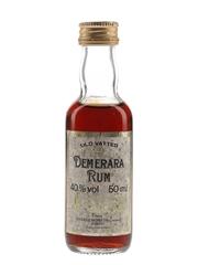 OVD Old Vatted Demerara Rum Bottled 1980s - George Morton 5cl / 40%