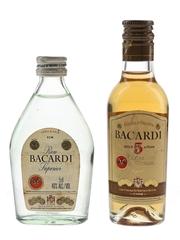 Bacardi Carta Blanca & 5 Year Old