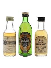 Cragganmore, Glenfiddich & Glen Grant