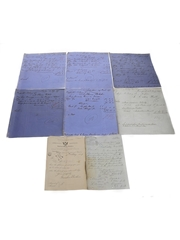Assorted Correspondence & Invoices, Dated 1877 to 1905