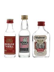 Borzoi, Konak & Vladivar Vodka