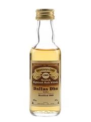 Dallas Dhu 1969 Connoisseurs Choice