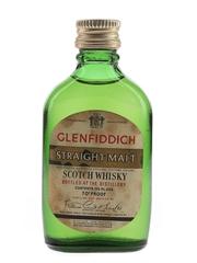 Glenfiddich Straight Malt Bottled 1960s 4.7cl / 40%