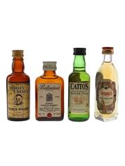 Abbot's Choice, Ballantine's, Catto's & Grant's