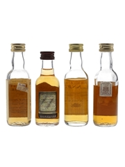 Assorted Blended Scotch Whisky Campbeltown Loch, Chivas Regal 12 Year Old, Islander & King George IV 4 x 5cl