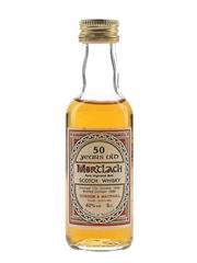 Mortlach 1936 50 Year Old Bottled 1986 - Gordon & MacPhail 5cl / 40%