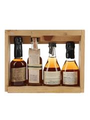 Hand Bottled Bourbons Of True Distinction Booker's, Baker's, Basil Hayden's and Knob Creek 4 x 5cl
