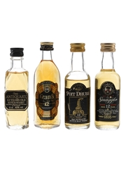 Antiquary, Grants, Smuggler 12 Year Old & Poit Dhubh 12 Year Old