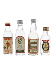 Beefeater, Bombay, London Square & Plym Gin