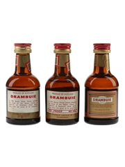 Drambuie Bottled 1980s 3 x 5cl / 40%