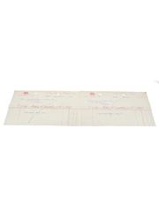 John Crabbie & Co. Ltd. Invoices, Dated 1938