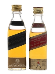 Johnnie Walker Black Label Extra Special & Red Label