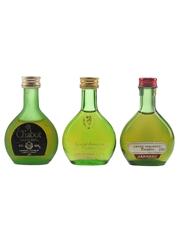 Chabot & Janneau Bottled 1970s 3 x 2.9cl-3cl / 40%