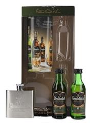 Glenfiddich Single Malt & Hip Flask Gift Pack