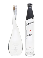 U'Luvka & Stolichnaya Elit Vodka  2 x 70cl / 40%