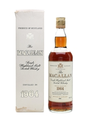 Macallan 1964 Bottled 1982 75cl / 43%