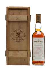 Macallan 1963 Anniversary Malt 25 Years Old 75cl
