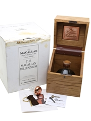 Macallan 50 Year Old Millennium Decanter Distilled 1949, Bottled 1999 70cl / 43%
