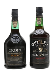 Offley Duke Of Oporto & Croft Three Diamonds Tawny Port