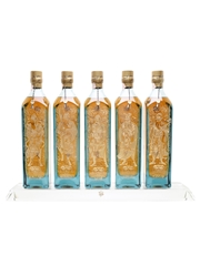 Johnnie Walker Blue Label Chinese Mythology Collection 5 x 75cl / 40%