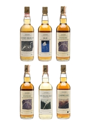 Samaroli Fragments Of Scotland Collection Glen Garioch, Ardbeg, Highland Park, Glen Elgin, Longrow, 6 x 75cl
