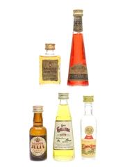 Assorted Italian Liqueur Miniatures
