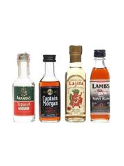 Assorted Rum, Tequila & Mezcal Miniatures