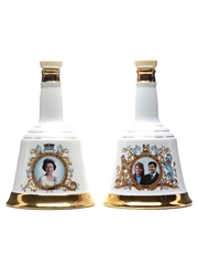 2 x Bell's Decanters 75cl