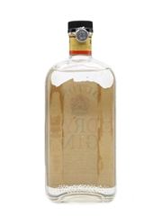 Buton Dry Gin Bottled 1950s 75cl
