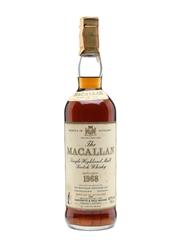 Macallan 1968