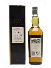 Glen Ord 1974 23 Year Old Bottled 1998 - Rare Malts Selection 75cl / 60.80%