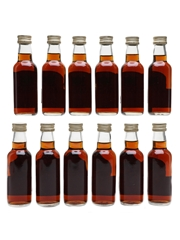 Glenfiddich 1964 40 Year Old Cask Strength Bottled 2005 - Hart Brothers 12 x 5cl / 47.5%