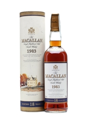 Macallan 1983 18 Years Old 70cl