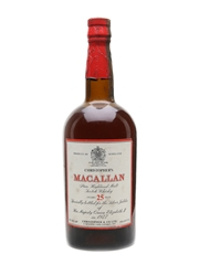 Macallan 25 Year Old Silver Jubilee 1977