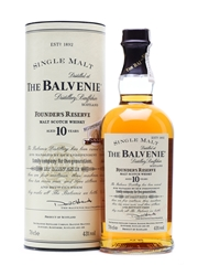 Balvenie 10 Years Old Founder's Reserve 70cl / 43%