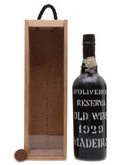 D'Oliveiras Reserva Old Wine 1929 Madeira