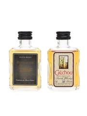 Calchou Orkney Malt & Bennachie 21 Year Old Miniatures 2 x 5cl