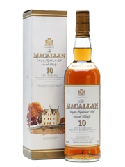 Macallan 10 Years Old Bottled 1990s 70cl / 40%